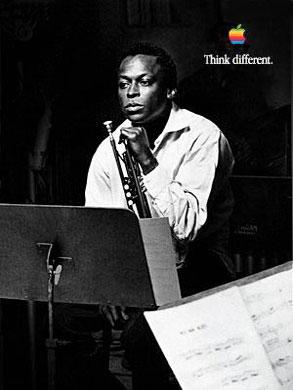 Miles Davis, Think Different