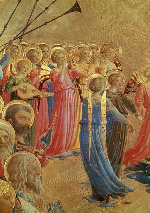 Coronation of the Virgin, Fra Angelico, c. 1435
